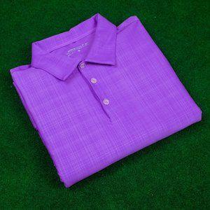 Nike Golf DRI-FIT Monochrome Purple Hatch Polo